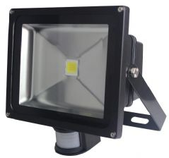 PRO ELEC PEL00276  Led Floodlight With Pir 30W